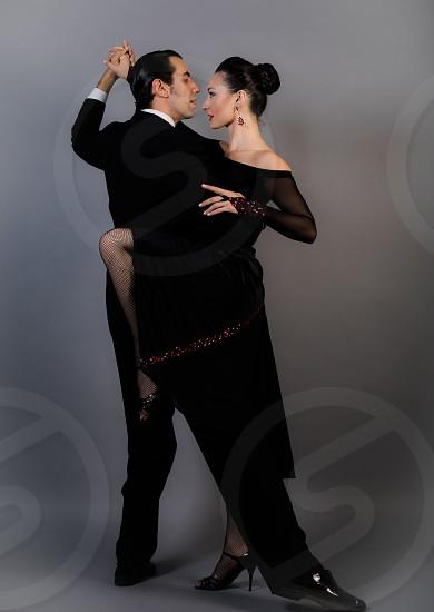 Tango dancers movement  photo