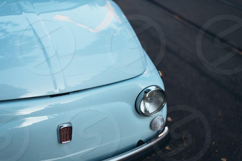 Fiat500italywhite photo