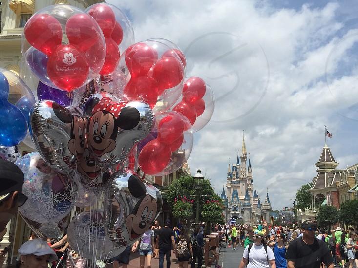 Disney Vacation Balloons Summer photo