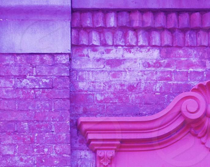 Vibrant architectural details photo