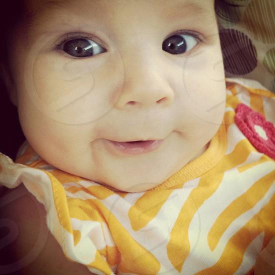 baby girl portrait photo