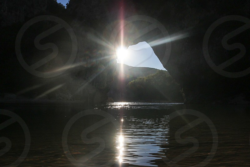Pont d'arc France photo