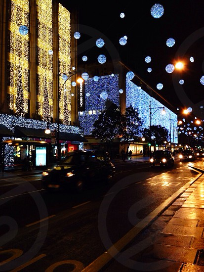 London christmas lights  photo