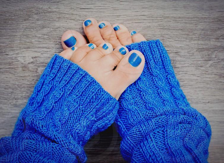 Home comfort feet love photo
