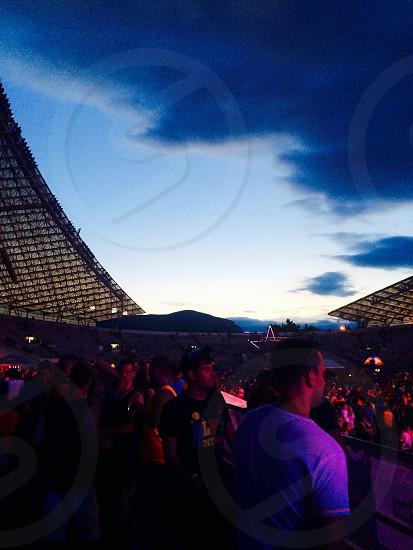Poljud Stadium in Split Croatia. Ultra Europe Music Festival photo
