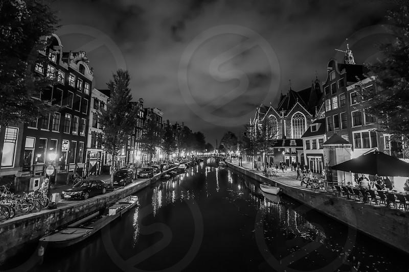 Nieuwmarkt Amsterdam. photo