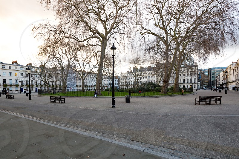 Fitzroy Square Garden Fitzroy Tavern London photo