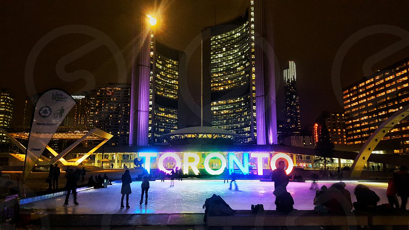 #nathanPhillipsSquare #TorontoDowntown photo