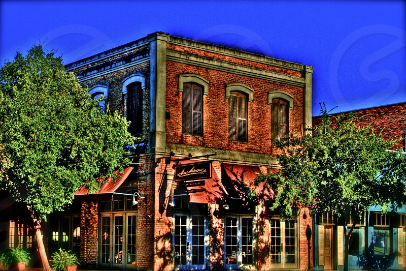 Jacksons Restaurant located in Downtown Pensacola taken in 2010.  Artistic Brush Effects added. photo