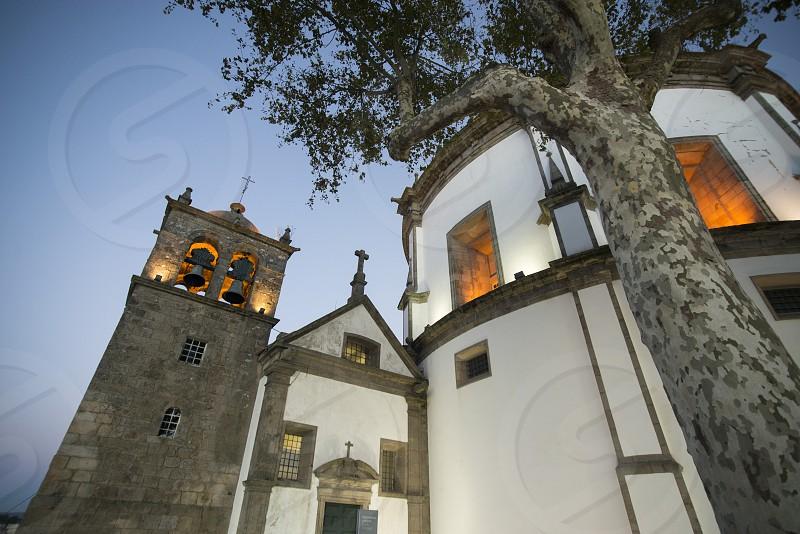 the Mosteiro da Serra do Pilar in Villa nova de gaia in the city centre of Porto in Porugal in Europe. photo