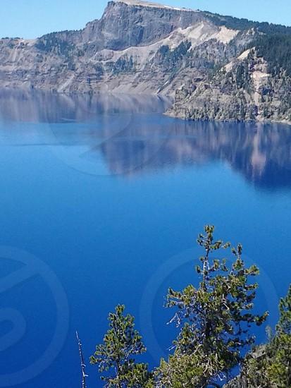 Crater Lake Oregon photo