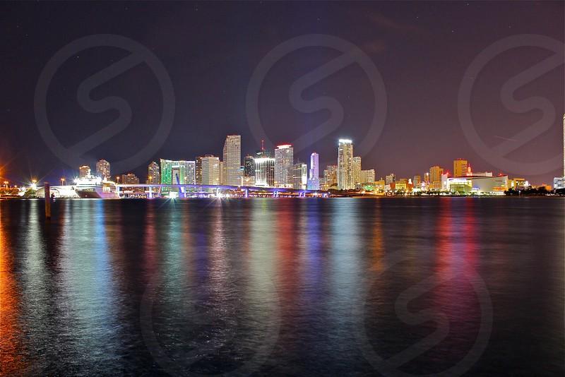 Miami skyline.  photo