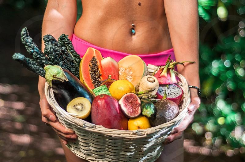 fruit exotic veg health paleo lifestyle vegetarian photo