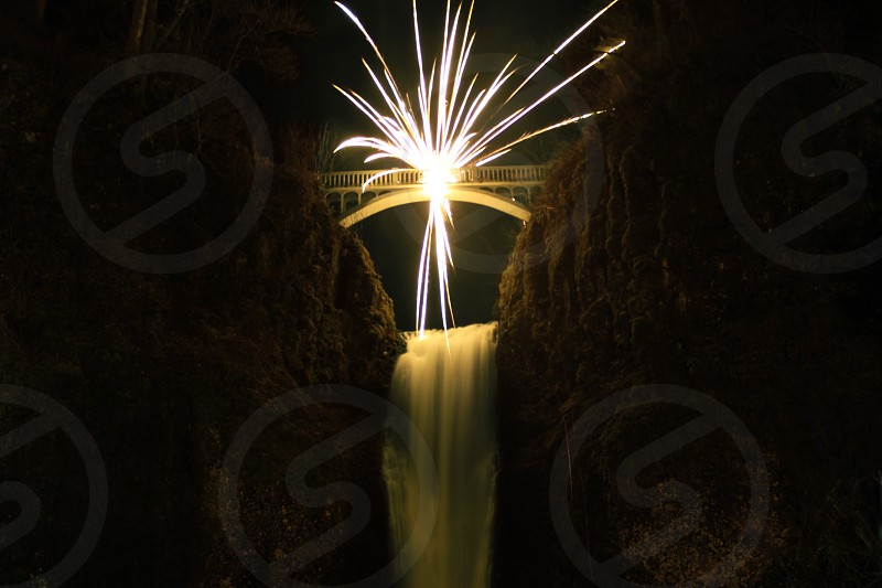 Bridge explosion  photo