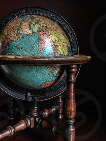 Old globe photo