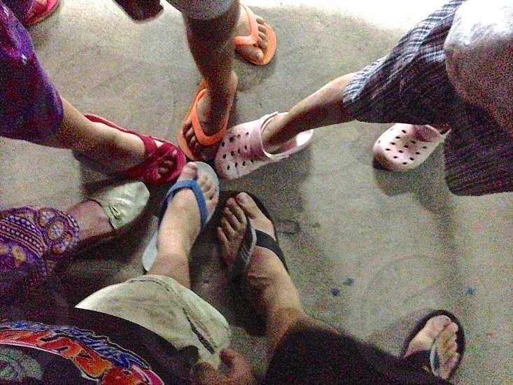 feet summer flipflops sandals foot pact summer friends photo
