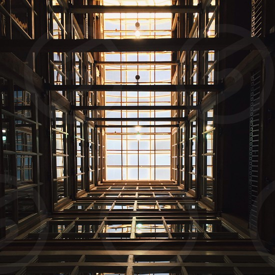 brown building frame photo