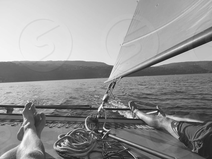 There's nothing like an afternoon sail photo
