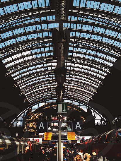 Frankfurt Train Station photo