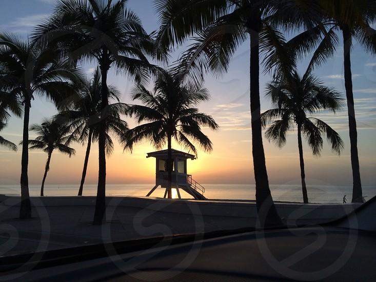 Good morning Fort Lauderdale beach.  photo