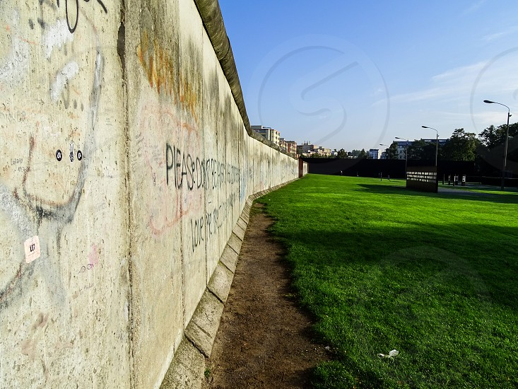 Gedenkstatte Berliner Mauer Berlin photo
