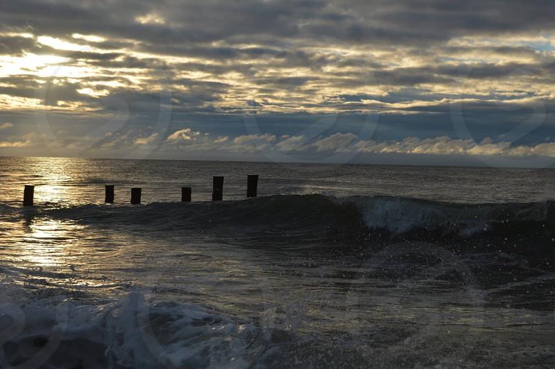 A splash at sunrise Cape May NJ heatherbodkin photo