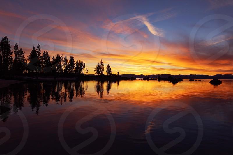 Sand Harbor Beach Lake Tahoe photo