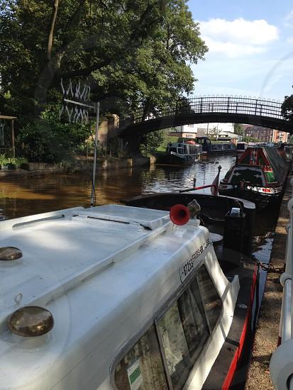 Bridge over the Bridgewater Canal  Worsley photo