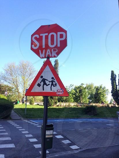 Stop war! photo