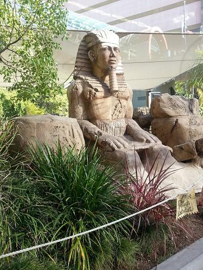 estatua egipcia. photo
