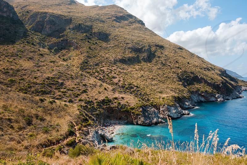 La riserva naturale dello Zingaro in Sicilia. photo