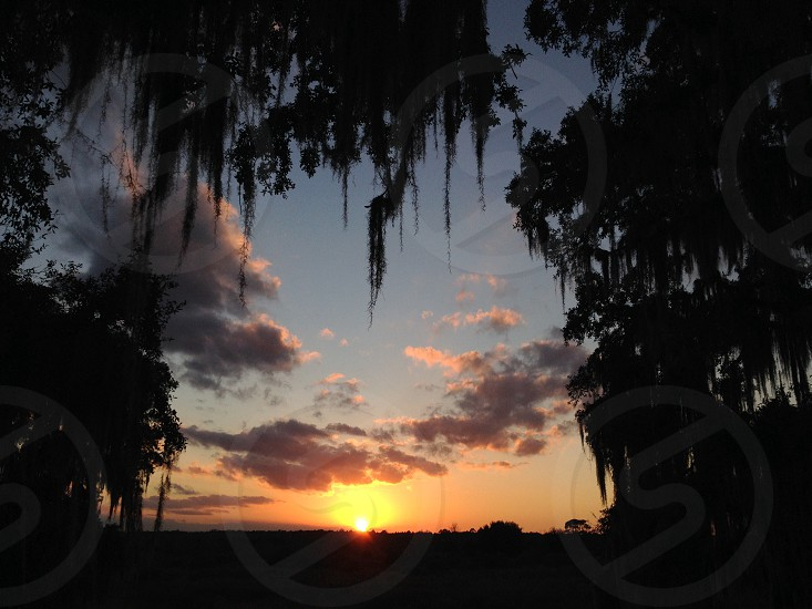 Sunset Ormond Beach Florida photo