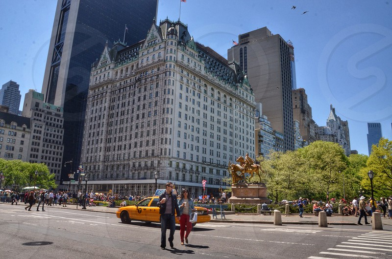 The Plaza Hotel. Fifth Ave. NYC photo