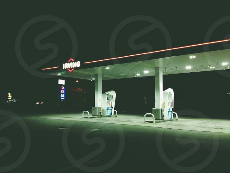 irving gasoline station photo