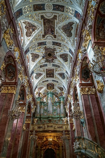 Partial View of the Jasna Gora Monastery in Czestochowa Poland photo