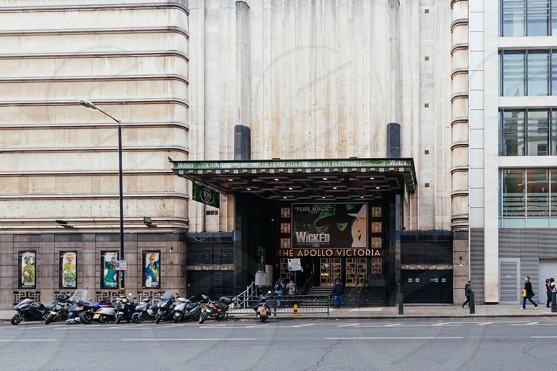 Wicked exterior theatre London photo