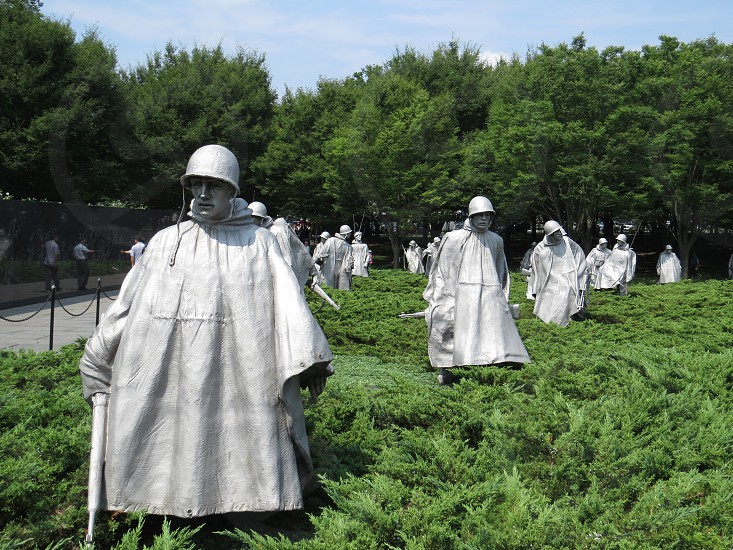 Korean War Memorial Washington DC photo