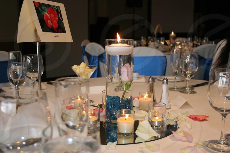 Table decor photo