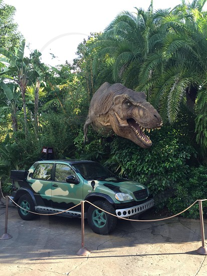 T-Rex at islands of adventure  photo