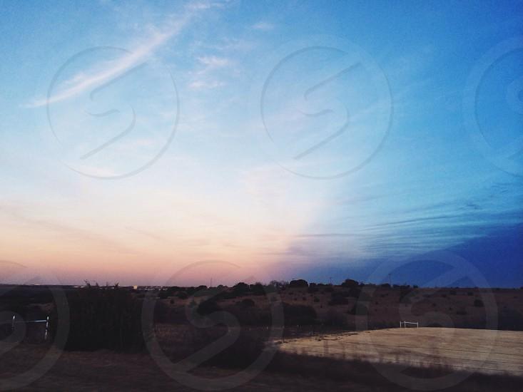 blue sky photography photo