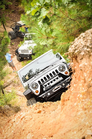 WEEKEND WARRIORS | Not much else describes warrior than conquering a rocky hill without using a winch!  One of favorite hobbies getting dirty on Jeep trails! photo