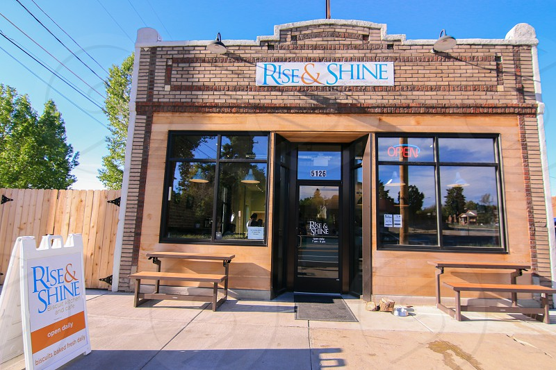 Rise & Shine. Denver Restaurant. Breakfast. Exterior. photo