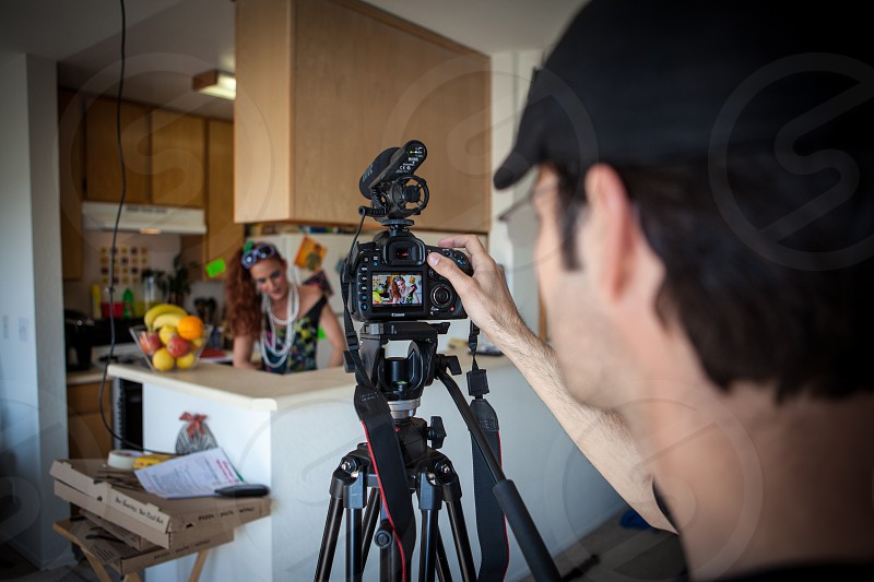 BTS behind the scenes studio shoot photographer photo