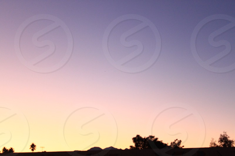Las Vegas NV Sunset 2011 photo