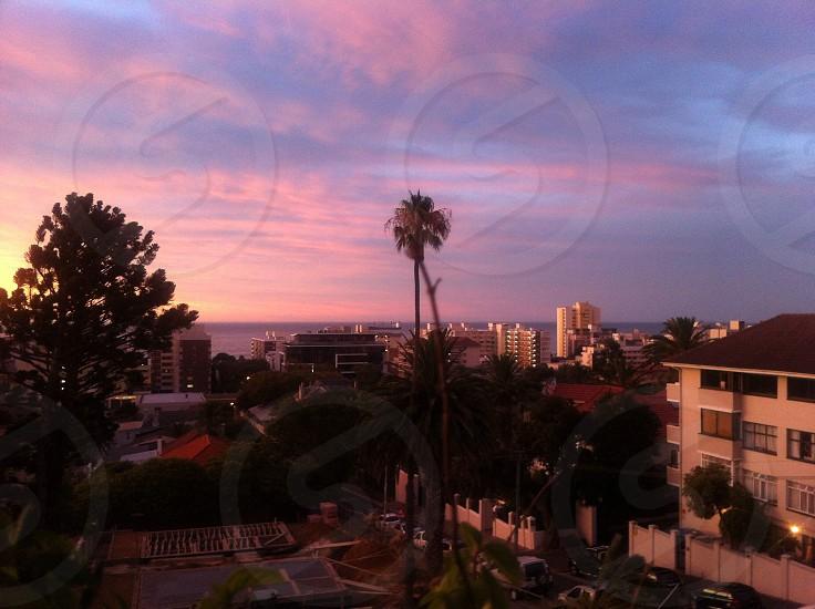 Sea Point Sunset photo