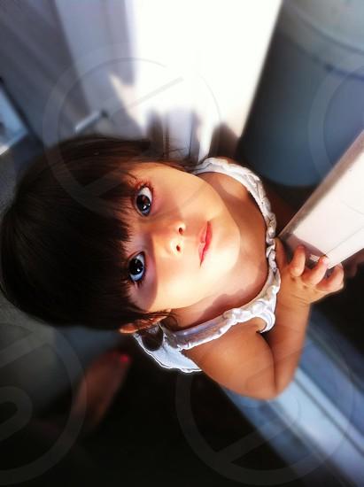 My little girl photo