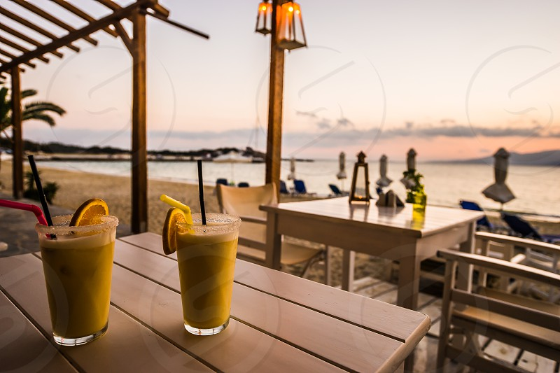 Pina Colada's on our Spain trip. photo