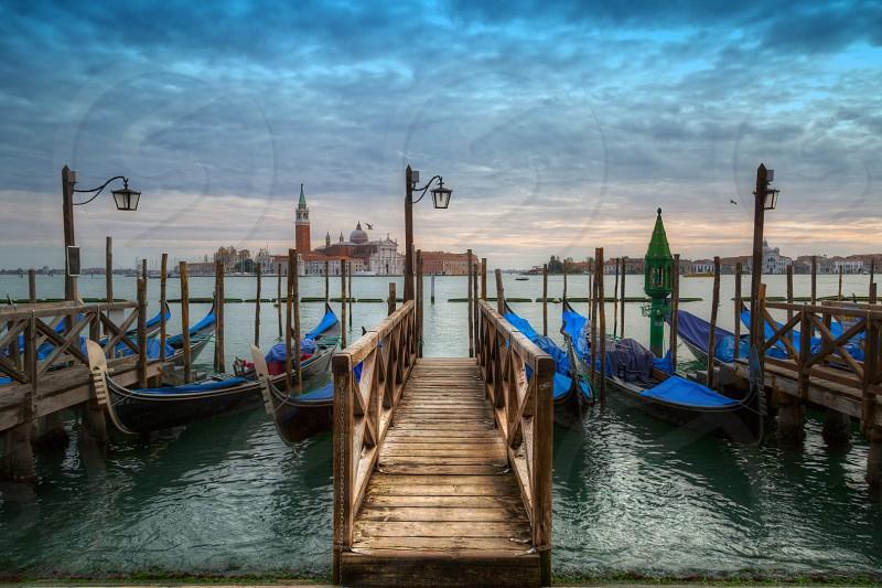 Grand Canal Venice Italy photo