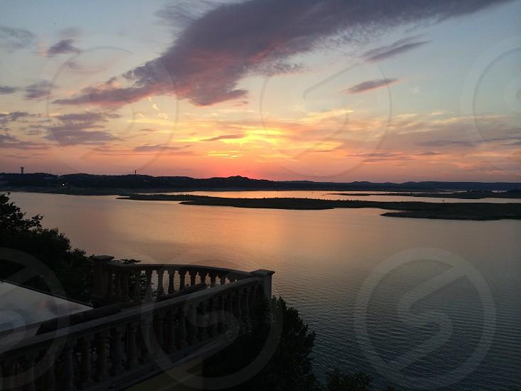 Lake Travis (Austin TX) Sunset photo