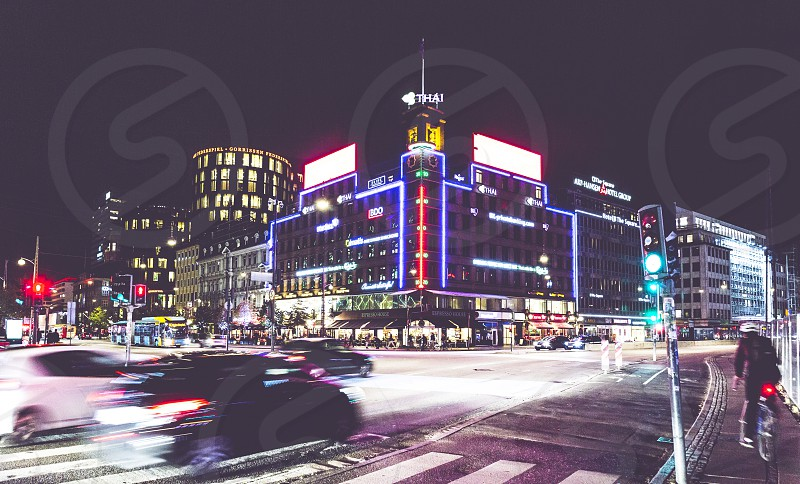 Copenaghen city life time photo